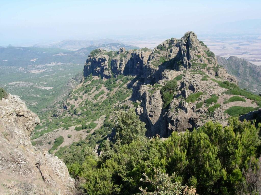 Trekking on monte arcuentu sardinia agriturismo la for Agriturismo sardegna